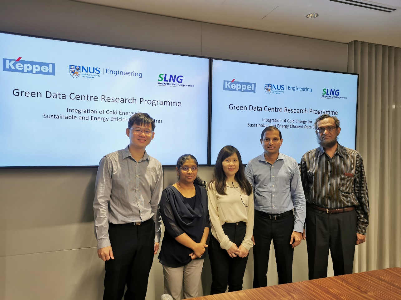 NUS, Keppel And SLNG Join Forces To Develop New Energy-Efficient Cooling Technology For Data Centres